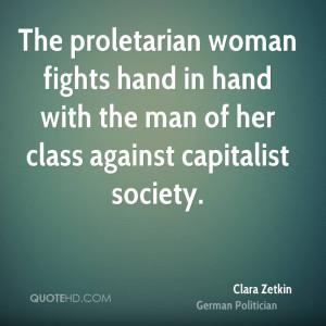 Clara Zetkin Society Quotes