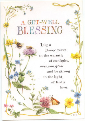 Christian Get Well E-cards Free | Get Well Blessing greeting card Turn ...