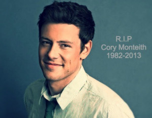 RIP Cory Monteith. Gone far too soon.