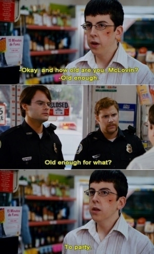 Officer Slater: No, I would say...