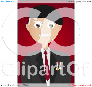 Clipart Happy Male Senior Citizen With Coffe On A Park Bench - Royalty ...