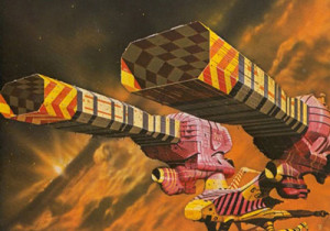 Chris Foss designs guild frieghter for Jodorowsky Dune