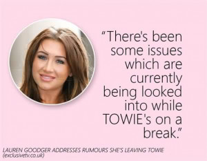 Nice Celebrity Quote ~ There's been some issues which are currently ...