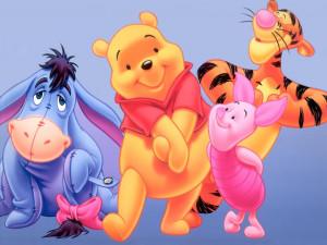 Walt Disney Winnie The Pooh Bear Characters Wallpaper