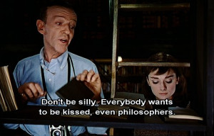 audrey hepburn, cinderela em paris, fred astaire, funny face, quote