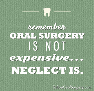 Neglecting your oral health can be expensive. If you have an issue ...