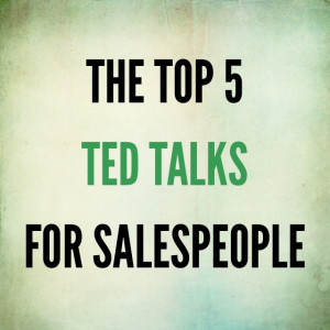 TED Talks for Salespeople: The 5 Not to Be Missed