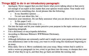 Persuasive essay tips