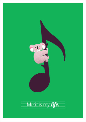 Creative Illustration Posters with quotes of famous people 9 Creative ...
