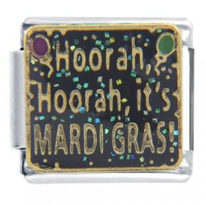 Italian Charms - mardi gras hoorah words & phrases italian charm Image ...