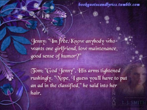 The Forbidden Game by L. J. Smith and Quotes