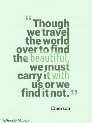 Great quotes about travel are energizing reminders of why we leave our ...
