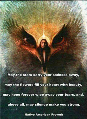 Native American proverb, wise words, wisdom, quote, citat, fantasy art ...