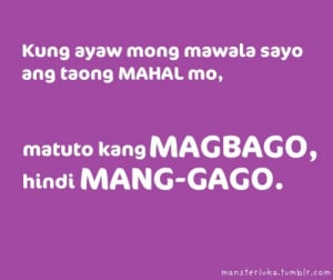 Happy Love Quotes Tagalog Tumblr