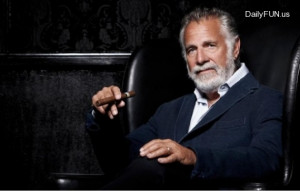 ... Jonathan Goldsmith playing 'The Most Interesting Man In The World