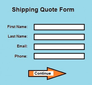 Instant shipping coupon after submitting quote form!