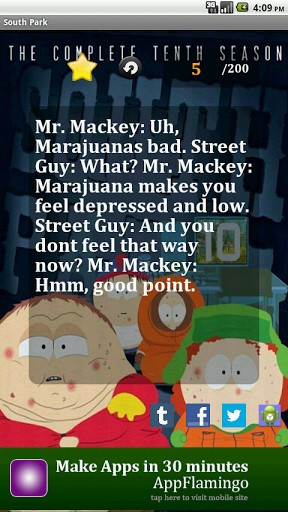 Funny South Park Quotes Screenshot 2
