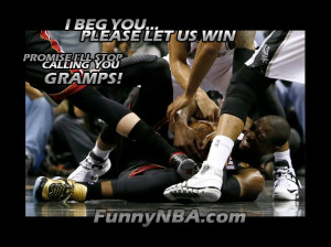 Wade is begging to win
