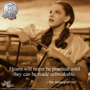 ... until they can be made unbreakable.} The Wizard of Oz #WizardofOz75