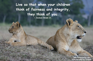 Teaching Your Child About Integrity