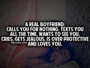 """Oh, I guess """"REAL BOYFRIENDS"""" do all the things that warrant ..."""