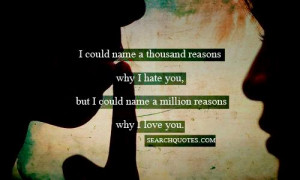Hate Love Life Quotes Quote