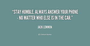 Stay Humble Quotes Preview quote