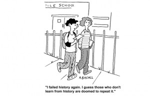Why does history continue to repeat itself? And, more importantly, why ...