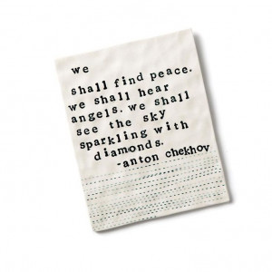 Demdaco Heart and Soul Find Peace Quote Plaque