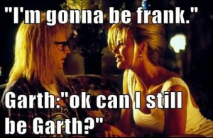 funny pictures, waynes world, garth