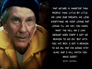 Tribute to Mickey Goldmill by PaulistaPenguin