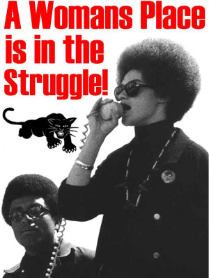Women played a crucial role in shaping the black power movement, says ...