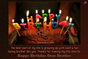 Happy Birthday Brother Quotes From Sisters Labels: wishes for brother