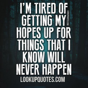 feeling disappointed quotes