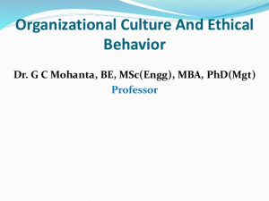 ethical organizational culture and values ethics definition ethics ...