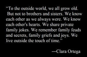 ... words #claraortega #siblings #Brothers #sisters #special #bond #family