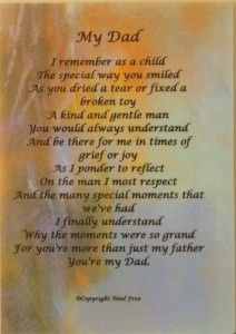 Birthday For Deceased Father | birthday poems for deceased dad More