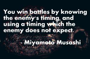 Miyamoto Musashi / Book of Five Rings Quotes