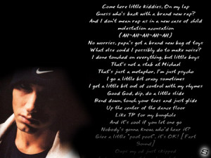 eminem love quotes from songs