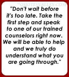 Dont wait before its too late quote
