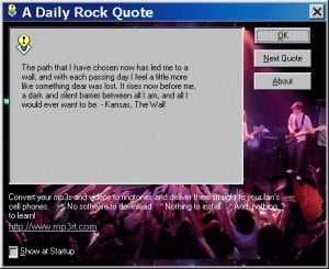 Famous Quotes Songs Image