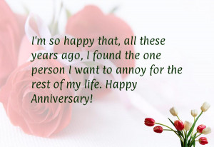 Humorous anniversary quotes