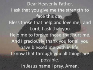 Give me strength Lord!
