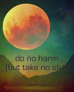 ... , but take no shit | Do no harm (but take no shit) | Random Quotes