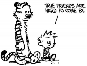 Calvin and Hobbes - Friends