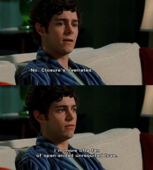 adam brody, humor, love, quote, seth cohen