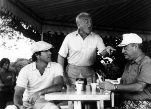 CADDYSHACK, Scott Colomby, Chevy Chase, Ted Knight, Rodney Dangerfield ...