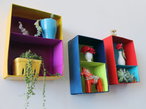 43. Shoebox Wall Art : Don't recycle those shoeboxes just yet! They ...