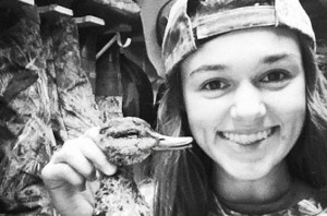 No one could ever call Sadie Robertson a yuppie, that's for sure ...