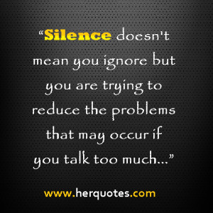 You Talk Too Much Quotes